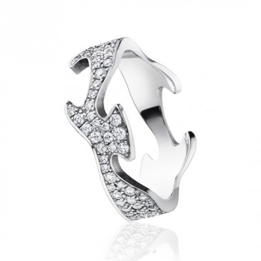 Georg Jensen Fusion Centre Ring