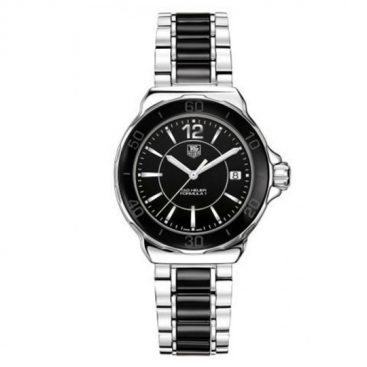 TAG Heuer Ladies Steel & Black Ceramic F1 Watch