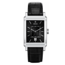 Hugo Boss Rectangle Face Leather Strap Watch 1512225