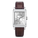 Hugo Boss Gents Brown Leather Strap with Rectangle Dial Watch 1512227