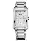 Hugo Boss Gents Stainless Steel Bracelet Watch With Rectangle Face