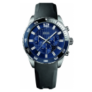Hugo Boss Gents Chronograph Rotating Bezel Blue Dial Watch 1512803