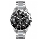 Hugo Boss Gents Chronograph Black Dial with Rotating Bezel Watch 1512806