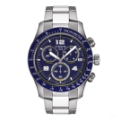 Tissot Gents T-sport V8 Blue Dial Stainless Steel Watch